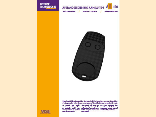 Manual for connecting the remote control NL